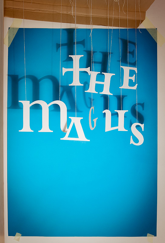 The Magus poster in the works
